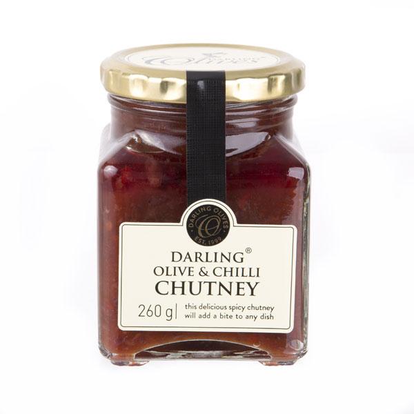 Olive and Chilli Chutney